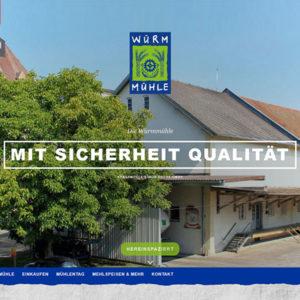 Webdesign Würmmühle Dachau