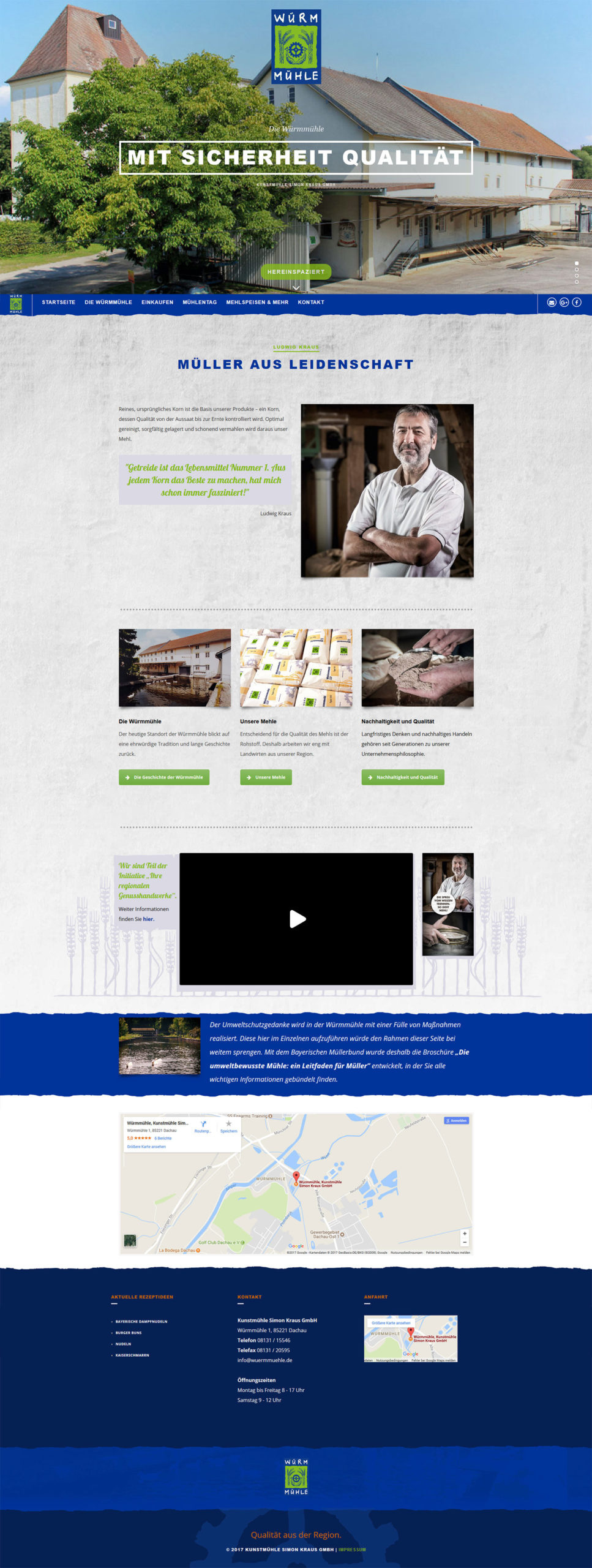 Webdesign Würmmühle